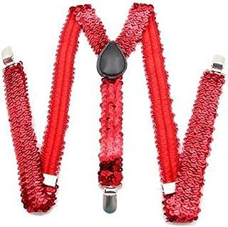 Outer Rebel Sequin Suspenders