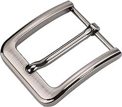 1 1764 wide Belt buckle for men Heavy duty solid buckle satin nickel finish. 3032 mm