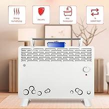 KOKIN Calefactor Eléctrico Calefactor Convector con 2 Ajustes de Calor, Termostato Regulable con Regulador de Potencia para un bajo Consumo,Calefactor de Aire Caliente Apto para Baño
