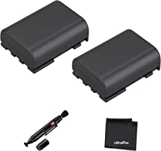 UltraPro 2-Pack NB-2LH High-Capacity Replacement Battery for Canon EOS 350D 400D Rebel XT Digital Rebel Xti - UltraPro BONUS INCLUDED: Deluxe MicroFiber Cleaning Cloth, Lens Cleaning Pen
