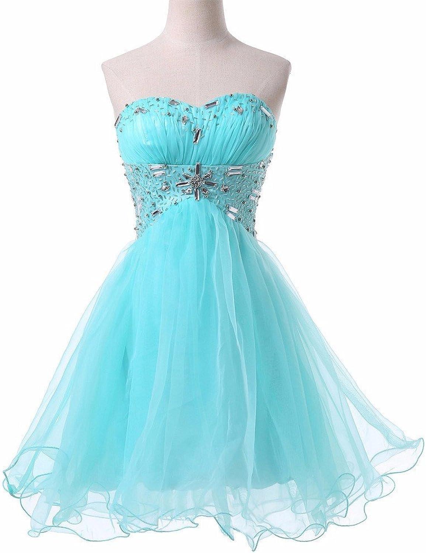 CharmingBridal Short Mini Homecoming Formal Cocktail Prom Dress SD053