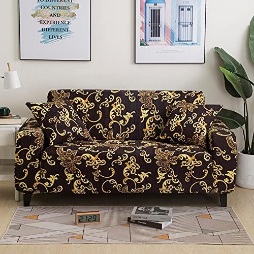 PPOS Fundas de sofá cómodas y Suaves más Nuevas para Sala de Estar, Fundas de sofá elásticas, Fundas de sofá de Esquina A2 1 Asiento 90-140cm-1pc
