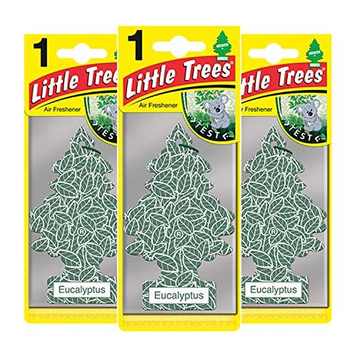 Little Trees LTZ078 - Ambientador para eucalipto (3 Unidades)