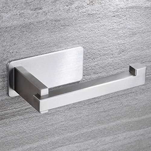 ZUNTO Portarrollos Para Papel Higiénico Autoadhesivo Portarrollos Baño Porta Rollo para Baño y Cocina, Acero inoxidable SUS 304