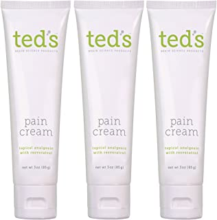 Ted's Pain Cream Three Pack
