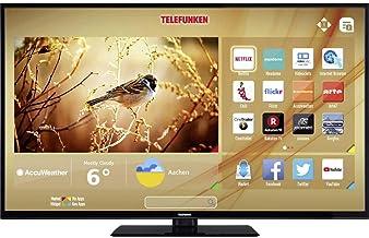 Telefunken C49U446A LED-TV 124cm 49 Zoll EEK A+ (A++ - E) DVB-T2, DVB-C, DVB-S, UHD, Smart TV, WLAN,