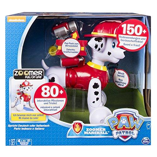 Spin Master 6031247 – Zoomer - Paw Patrol Marshall