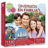 NJOY Experiences - Caja Regalo - DIVERSIÓN EN FAMILIA - Más de 1130 experiencias para familias a escoger
