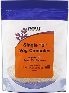 NOW Supplements, Empty Vegetarian Capsules, Single