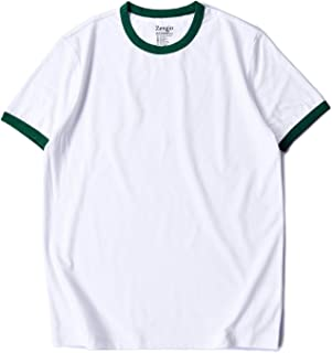 Best white shirt with green collar Reviews