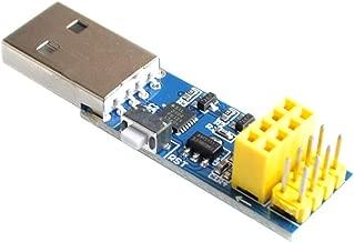 DIYUKMALL USB to ESP8266 ESP-01/ESP-01S WiFi Module Adapter Download Debug Link Kit for Arduino IDE USB to ESP8266 ESP-01s DIY Kit
