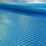 FF Cobertor Solar para Piscinas Cubierta de Piscina Solar Rectangular Azul, Las Piscinas a Prueba de Polvo Cubren la Lona de la Burbuja, Manta Calefactora para Piscinas (Size : 2.5x8m)