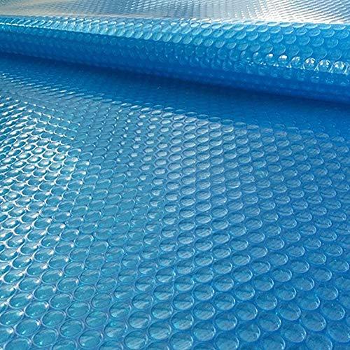 FF Cobertor Solar para Piscinas Cubierta de Piscina Solar Rectangular Azul, Las...