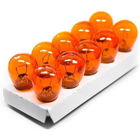 12v 21 5w 2 Faden Glühbirne Glühlampe Orange Ba 15d Blinker Harley Blinker Us Cars Auto