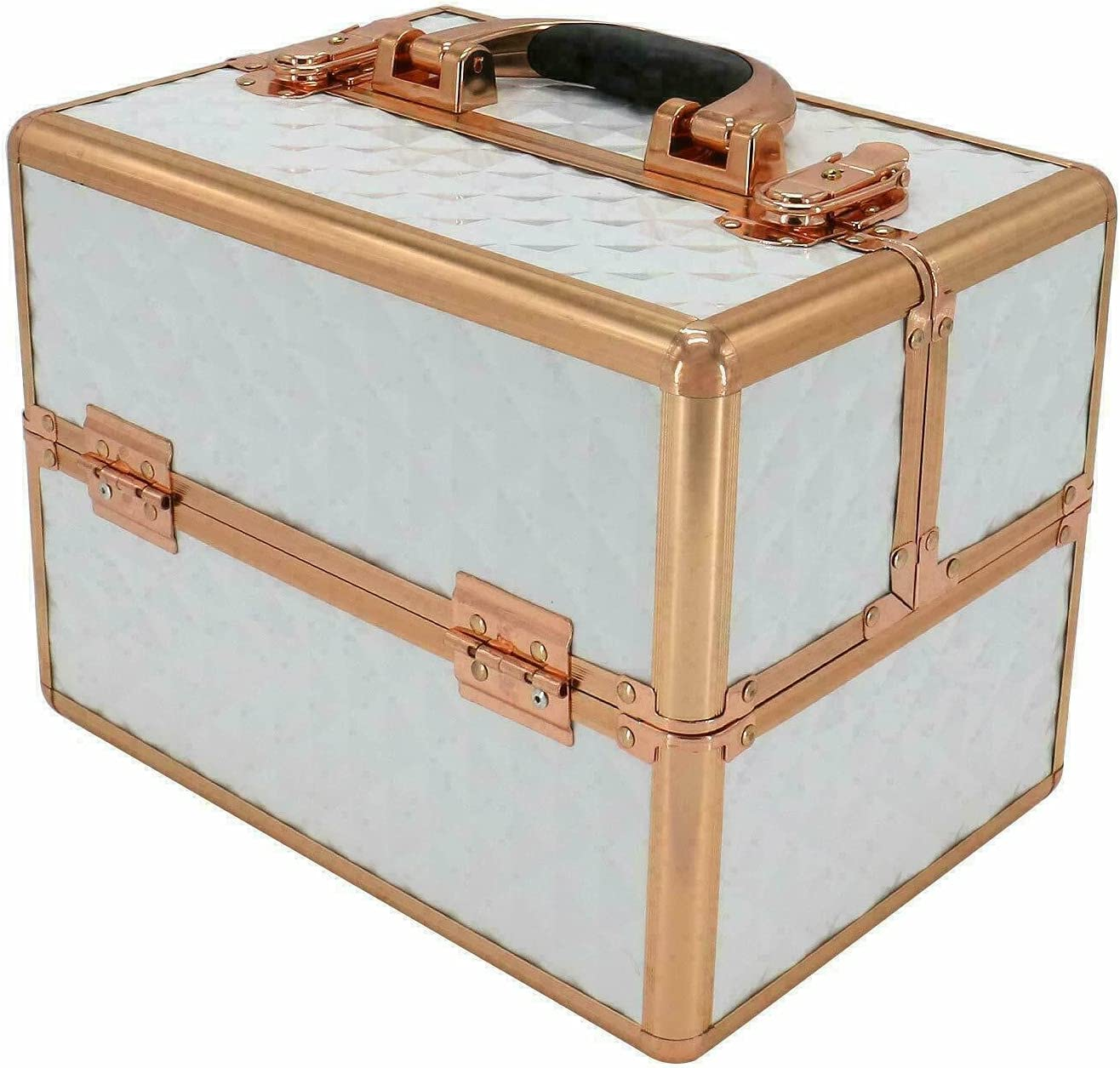 Protable Aluminum Makeup Train Cosmetic Box Max 63% OFF Jewelry Ranking TOP9 Case Storage
