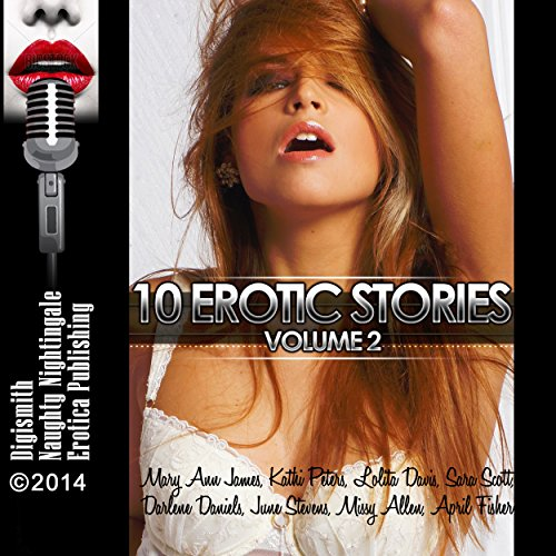 10 Erotic Stories, Volume 2 audiobook cover art