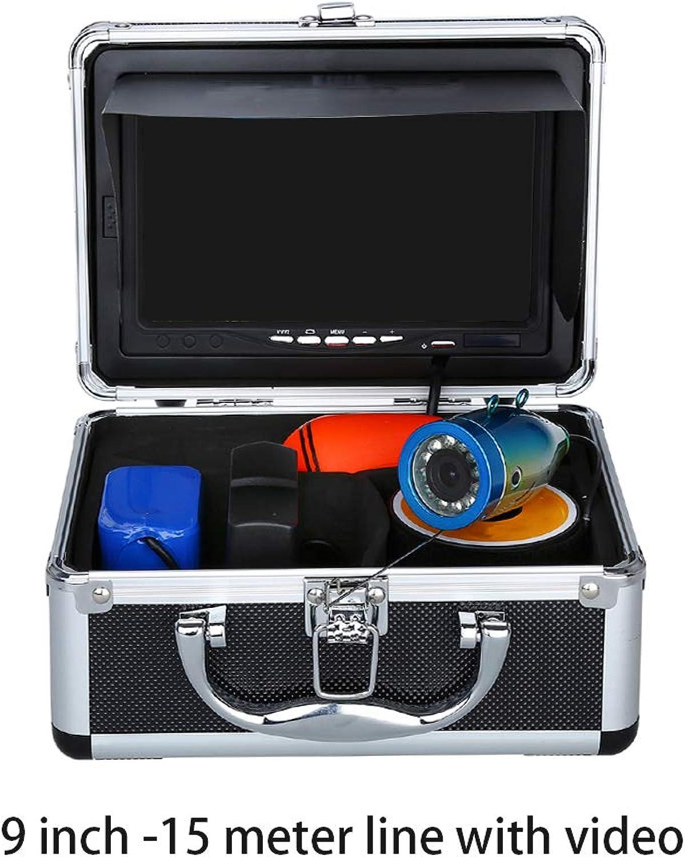 Sunlera 15 30   50m 9  in HD 1000TVL Fischfinder Kamera unter Wasser Weien LEDs IR-Lampen-Fisch-Fischen-Videokamera IP68