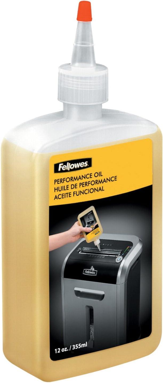 Fellowes - Aceite lubricante para destructoras de papel, 355 ml