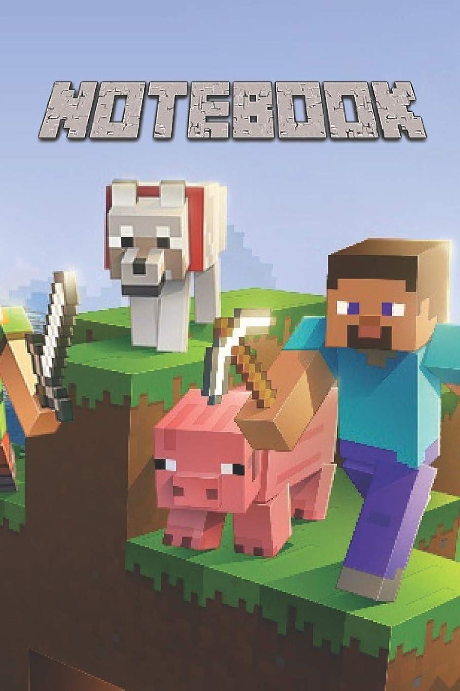 金貸し略奪資本主義Notebook: A Journal Notebook for Any Minecraft Lover and Minecrafter For School Or Personal Use