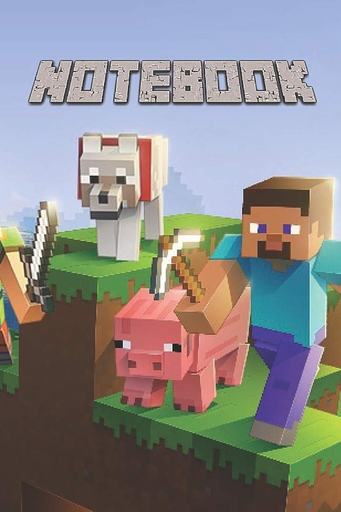 モンク休憩する放棄Notebook: A Journal Notebook for Any Minecraft Lover and Minecrafter For School Or Personal Use