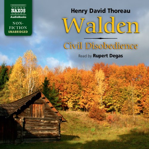 Thoreau: Walden / Civil Disobedience audiobook cover art