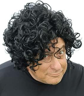 Prince Wig | Black Curly Wig for Prince, Purple Rain Costume, Men, Women, Kids
