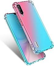 Starhemei for Xiaomi MI A3 Case, Xiaomi Mi CC9e Case, Shockproof Gasbag Case Gradient Color Anti-Fall Soft Silicone Anti-D...
