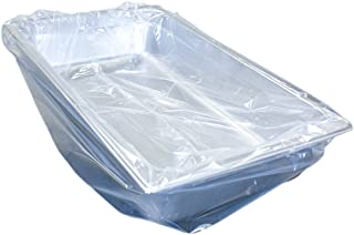 Handgards Ovenable Pan Liners - 34 in x 16 in Nylon Cooking Bag - 100 count - Fits Full and Half Long Pans