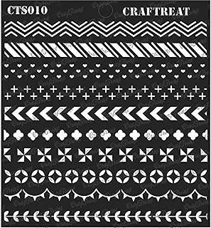 CrafTreat Stencil - Washi Tape 6
