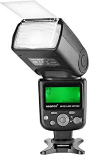 Neewer NW760 Remote TTL Flash Speedlite with LCD Display for Canon 7D Mark II, 5D Mark II III IV III IV 1300D 1200D 1100D ...