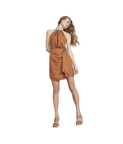 Bardot Goddess Halter Dress