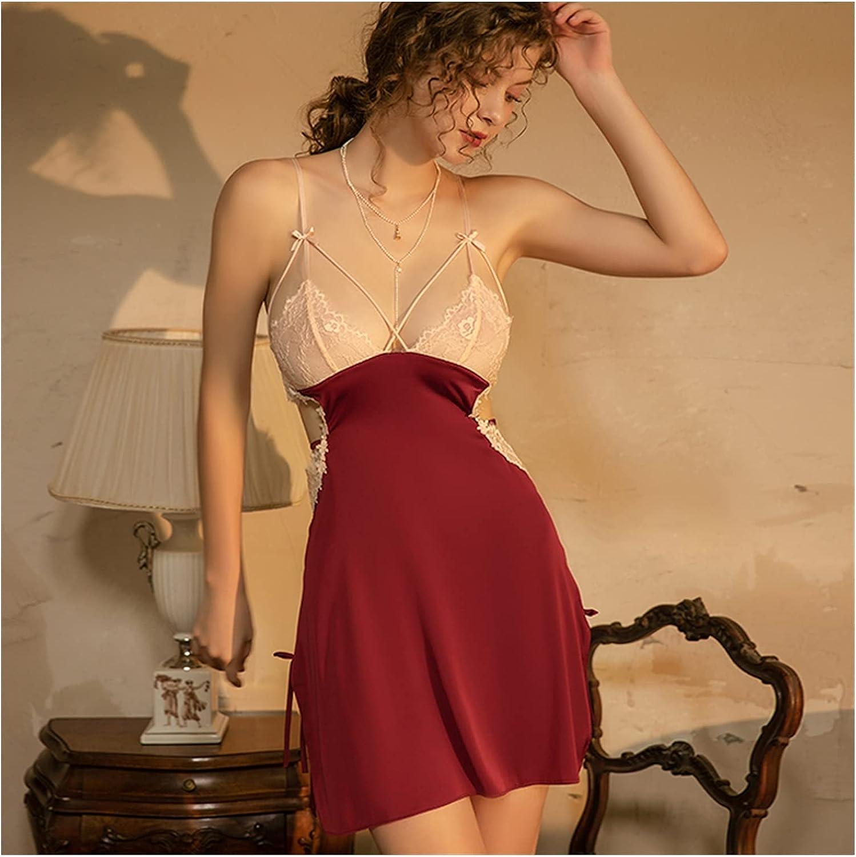 Nightgowns Luxury Women Sleepwear Soft Manufacturer regenerated product Home Nightdress Austin Mall Lace Sexy