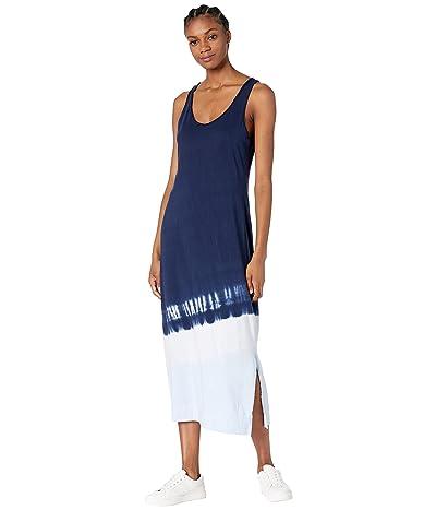 Michael Stars Cali Front To Back Dip-Dye Cotton Modal Tank Dress