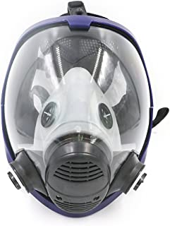 BearHoHo Full Facepiece Reusable Respirator Gas Mask Respirator Filter Protective Standard Interface(Only Body Mask)