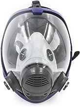 BearHoHo Full Facepiece Reusable Respirator Gas Mask Respirator Filter Protective Standard Interface(Only Body Mask)