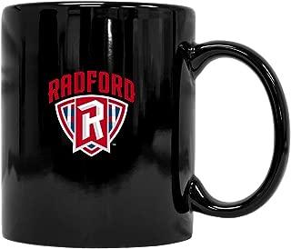 Radford University Highlanders Black Ceramic Mug