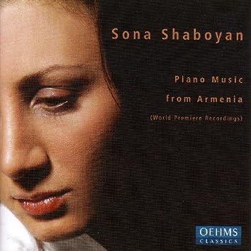 Shaboyan, Sona: Piano Music From Armenia