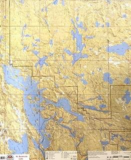 McKenzie BWCA/Quetico Canoe Map Number 16