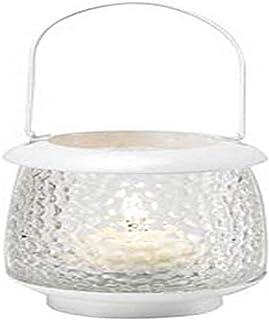 Biedermann & Sons Playa Daylight/Tealight Lantern, Summer White