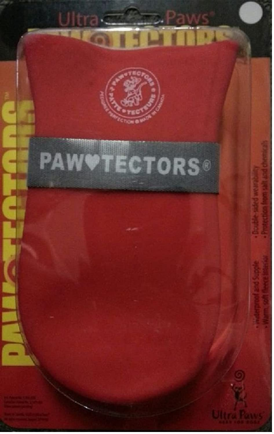 All Weather Pawtectors Ultra Paws Xs S M Lg Xl Waterproof Resistant Snow Boot  RED SMALL