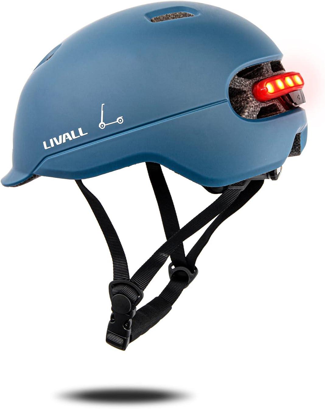 LIVALL Smart Helmet Adult Bike Auto LED Rea excellence New sales with Sensor
