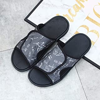B/H Couples Chaussures de Plage décontractées,Portez des Pantoufles de Plage à la Mode, des Tongs Velcro antidérapantes-Gr...