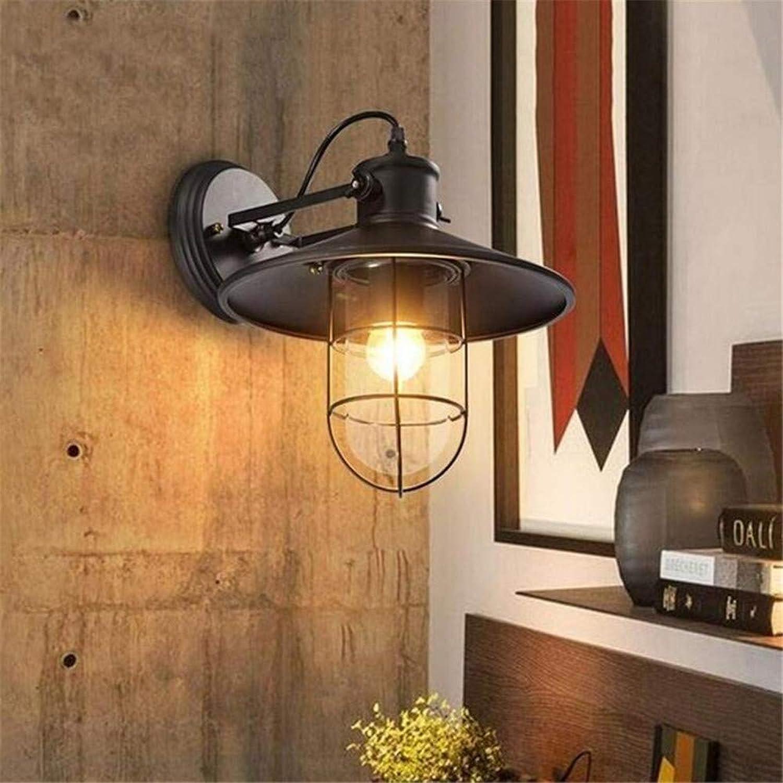 Ventilateur de Plafond Lumière Lustre Luminaires Applique Murale Méditerranéen Simple Fer Art Lumières Applique étanche Réglable Lanterne Pour Café Allée Corridor Escaliers Bar Lustre éclairages , Ch