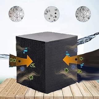HNDD Eco-Aquarium Water Purifier Cube Fish Tank New Filtration Material Rapid Water Purification Aquarium Filter, Aquarium Cleaning