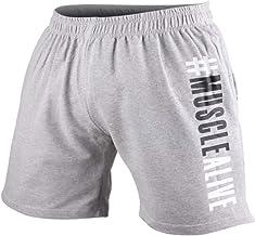 Heren Bodybuilding Sportschool Training Shorts Sport Fitness Badstof katoen Korte broeken