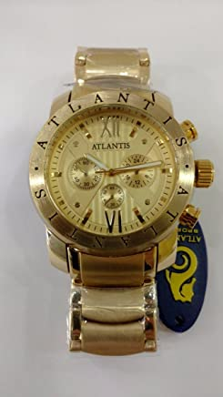 4877e9ed7cf Relógio Original Atlantis Dourado Bulgari C3 - Frete Gratis