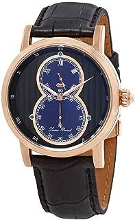 Infinity Dual Time Black Dial Men's Watch LP-40044-RG-01-BLA