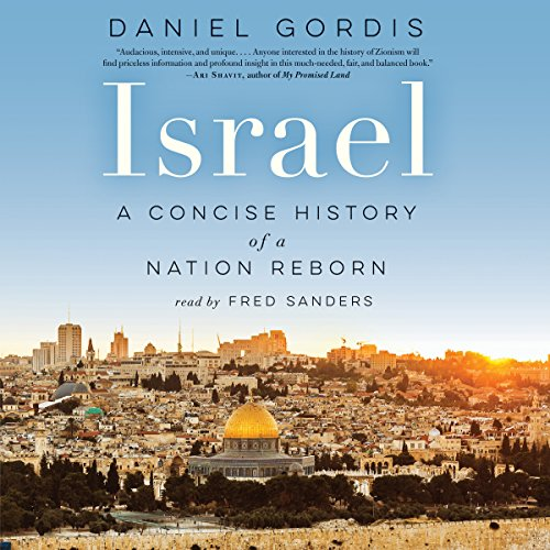 Israel audiobook cover art
