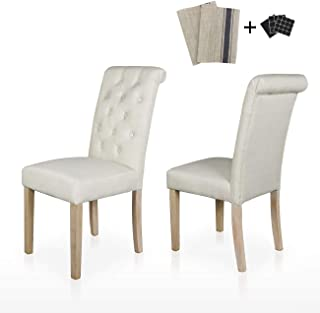 Best beige tufted dining chair Reviews