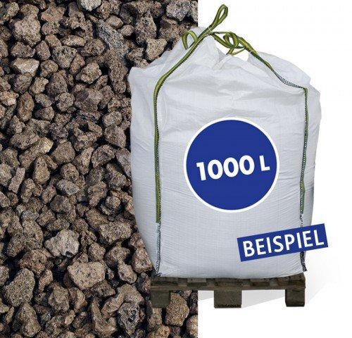 Lava Mulch rot 8-16 mm 1000 Liter